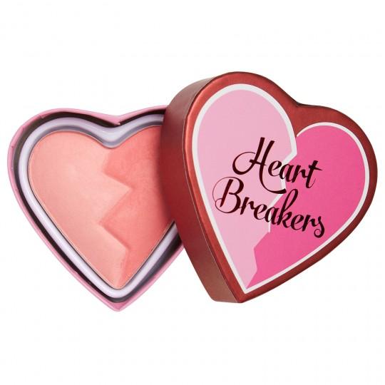 I Heart Revolution Heartbreakers Matte Blush - Brave
