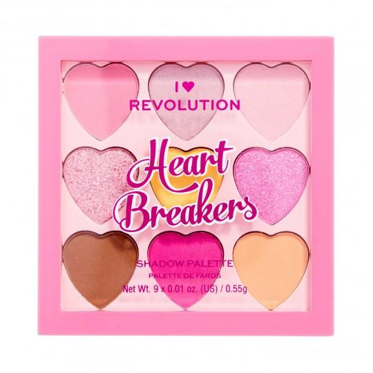 I Heart Revolution Heartbreakers Eyeshadow Palette - Candyfloss