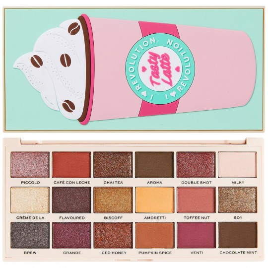 I Heart Revolution Tasty Eyeshadow Palette - Latte