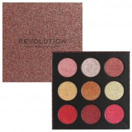 Makeup Revolution Euphoric Foil Eyeshadow Palette - House of Fun