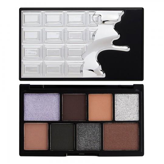 I Heart Revolution Mini Chocolate Eyeshadow Palette - Black Pearl