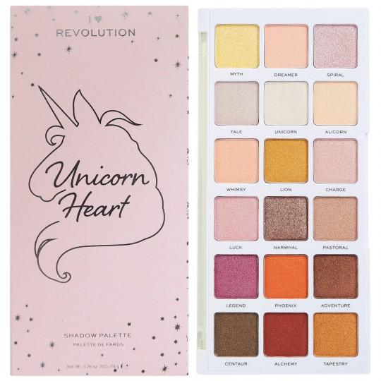 I Heart Revolution Unicorn Heart Glow Eyeshadow Palette