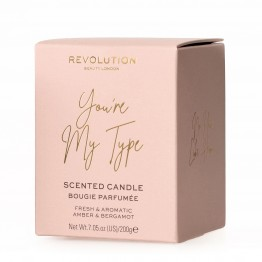 Makeup Revolution Scented Candle - You Are My Type