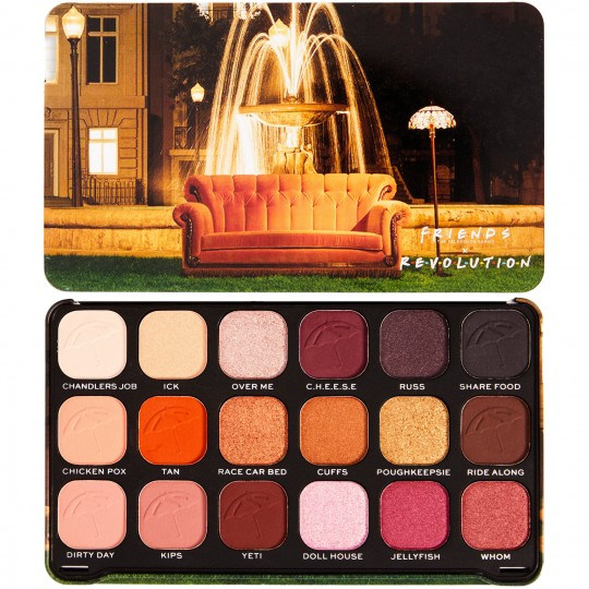 Makeup Revolution X Friends Forever Flawless Eyeshadow Palette - I'll Be There For You