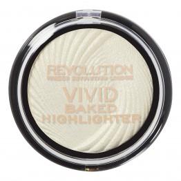 Makeup Revolution Vivid Baked Highlighter - Golden Lights