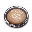 Makeup Revolution Vivid Baked Bronzer - Golden Days