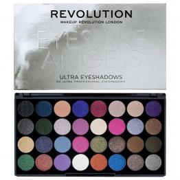 Makeup Revolution Ultra 32 Eyeshadow Palette - Eyes Like Angels