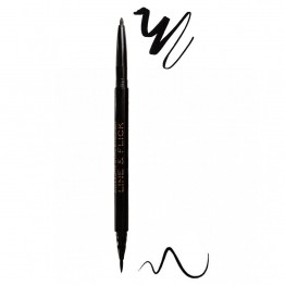 Makeup Revolution Awesome Dual Eyeliner - Felt & Kohl Black