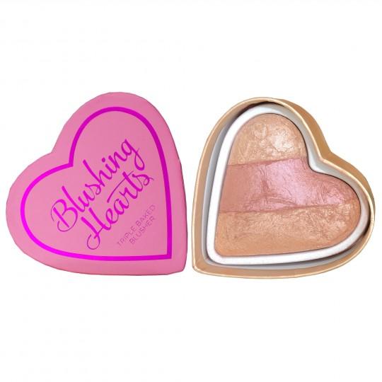 I Heart Makeup Blushing Hearts Blusher - Peachy Keen Heart (by Makeup Revolution)