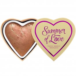 I Heart Makeup Blushing Hearts Bronzer - Love Hot Summer (by Makeup Revolution)