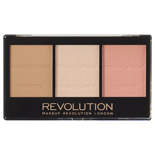 Makeup Revolution Ultra Sculpt & Contour Kit - Ultra Fair C01