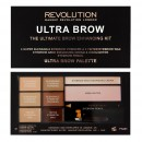 Makeup Revolution Ultra Brow Kit - Fair to Medium