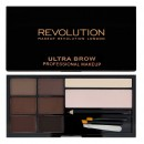 Makeup Revolution Ultra Brow Kit - Medium to Dark