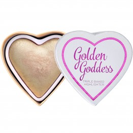 I Heart Makeup Blushing Hearts Highlighter - Golden Goddess (by Makeup Revolution)