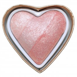 I Heart Makeup Blushing Hearts Blusher - Peachy Pink Kisses (by Makeup Revolution)