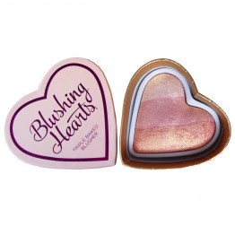 I Heart Makeup Blushing Hearts Blusher - Iced Hearts (by Makeup Revolution)