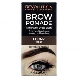 Makeup Revolution Brow Pomade - Ebony