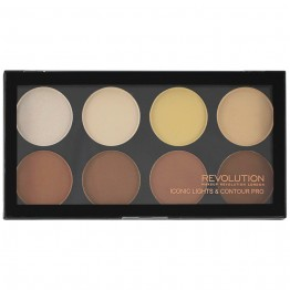 Makeup Revolution Iconic Lights & Contour Pro Palette