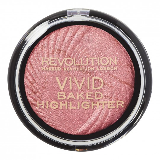 Makeup Revolution Vivid Baked Highlighter - Rose Gold Lights