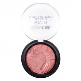 Makeup Revolution Vivid Baked Highlighter - Rose Gold Lights