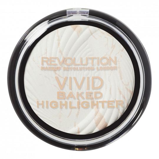 Makeup Revolution Vivid Baked Highlighter - Matte Lights