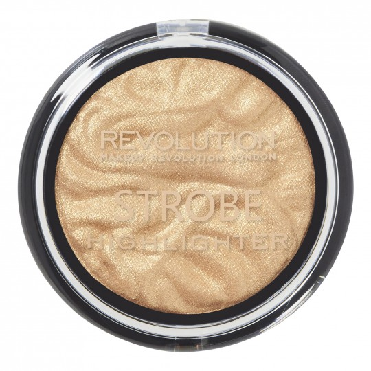 Makeup Revolution Strobe Highlighter - Gold Addict
