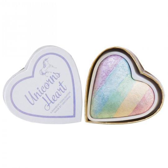 I Heart Makeup Highlighter - Unicorns Heart (by Makeup Revolution)