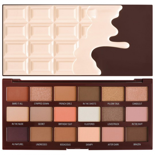 I Heart Revolution Nudes Chocolate Eyeshadow Palette