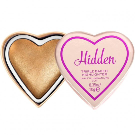 I Heart Revolution Glow Hearts Highlighter - Hardly Hidden