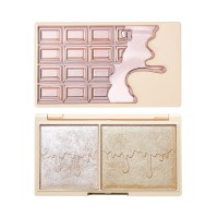 I Heart Revolution Mini Chocolate Highlighter Palette - Rose Gold Glow