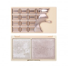 I Heart Revolution Mini Chocolate Highlighter Palette - Elixir Glow