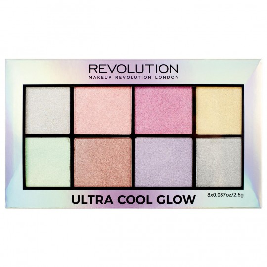 Makeup Revolution Ultra Cool Glow Highlighter Palette
