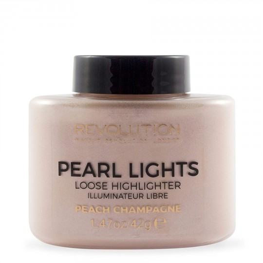 Makeup Revolution Pearl Lights Loose Highlighter - Peach Champagne