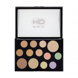 Makeup Revolution Pro HD Palette - The Face Works Light/Medium