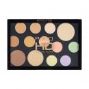 Makeup Revolution Pro HD Palette - The Face Works Light/Medium