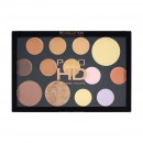 Makeup Revolution Pro HD Palette - The Face Works Medium/Dark