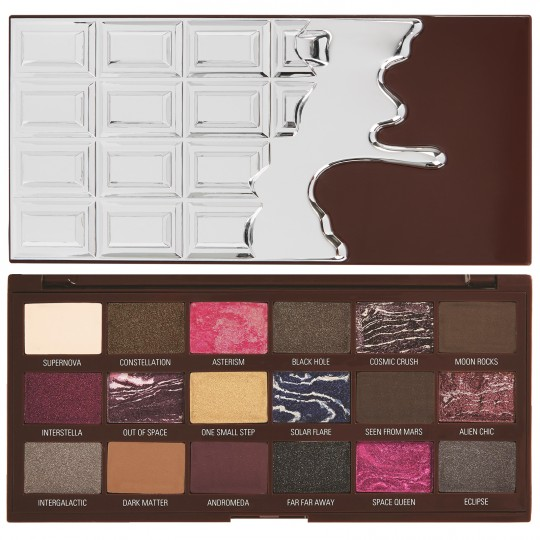 I Heart Revolution Galactic Chocolate Eyeshadow Palette