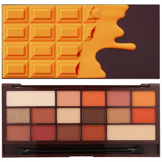 I Heart Makeup I Heart Chocolate - Chocolate Orange (by Makeup Revolution)
