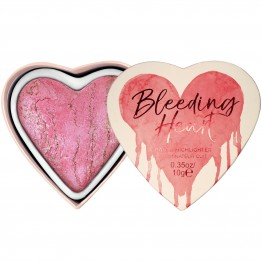 I Heart Makeup Highlighter - Bleeding Heart (by Makeup Revolution)