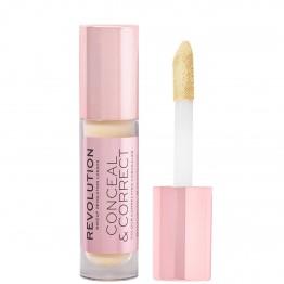 Makeup Revolution Conceal & Correct Concealer - Banana