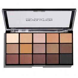 Makeup Revolution Re-Loaded Eyeshadow Palette - Basic Mattes