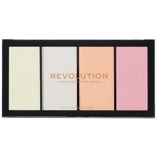 Makeup Revolution Re-Loaded Highlighter Palette - Lustre Lights Cool