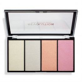 Makeup Revolution Re-Loaded Highlighter Palette - Lustre Lights Cool