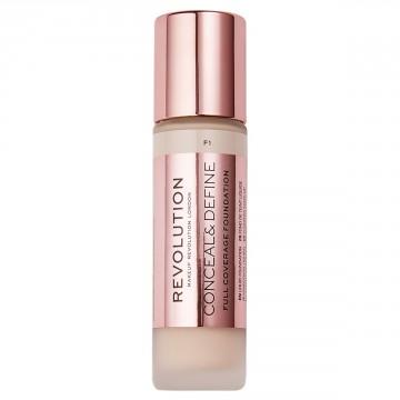 Makeup Revolution Conceal & Define Foundation - F1