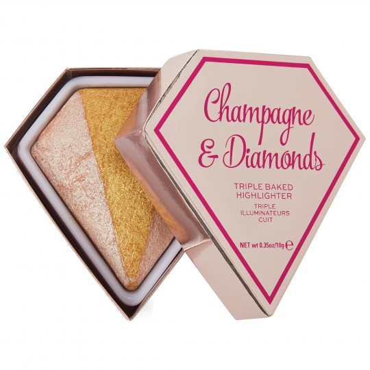 I Heart Revolution Diamond Highlighter - Champagne & Diamonds