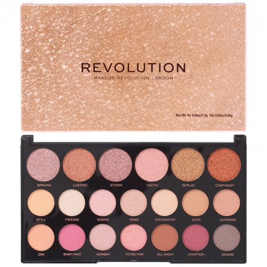 Makeup Revolution Jewel Collection Eyeshadow Palette - Deluxe