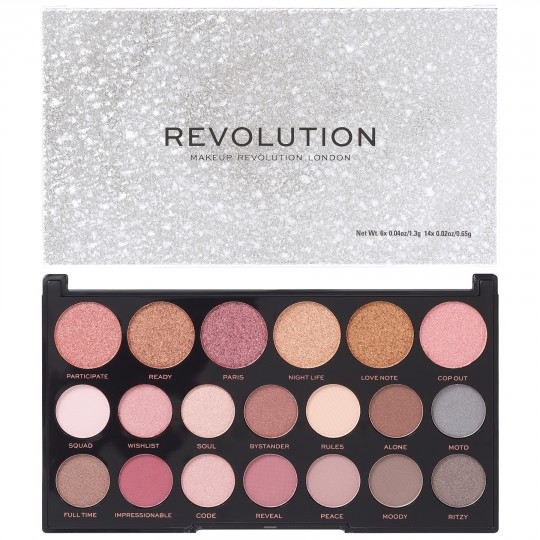 Makeup Revolution Jewel Collection Eyeshadow Palette - Opulent