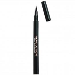Makeup Revolution The Liner Revolution Waterproof Eyeliner - Black