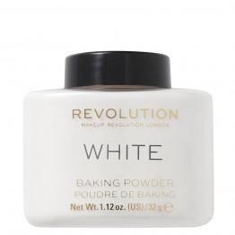 Makeup Revolution Loose Baking Powder - White