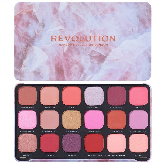 Makeup Revolution Forever Flawless Eyeshadow Palette - Unconditional Love